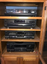 Home stereo system with 2 nuance speakers