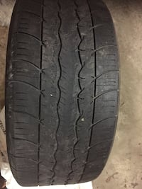 black leather car tire set Brampton, L6V 3W7