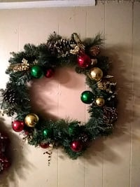 Large Christmas wreath 40 mi