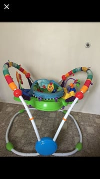 baby's multicolored jumperoo Winnipeg, R2C 1M9