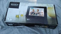 black Vizio flat screen TV box Vancouver
