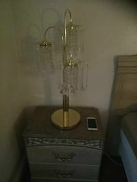 brass-colored base 3-light table lamp Baltimore, 21239