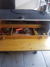 Chest drawer for tools storage