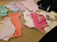 baby's assorted-color onesie lot Mississauga, L5M 0H2