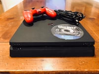 PS4 Slim with Red Controller & Call of Duty Infinite Warfare COD Playstation 4 Indian Trail, 28079