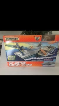 Matchbox skybusters aircraft carrier