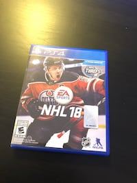 NHL18 for PS4 Toronto, M8Z 5W3
