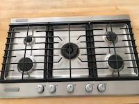 """36"""" gas range stainless  West Vancouver, BC, Canada"""