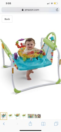 Fisher-Price Step 'n Play Jumperoo Chesapeake, 23321