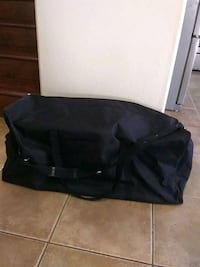 Large black duffle bag - 5 available