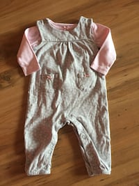 Two piece baby girl outfit 6 months