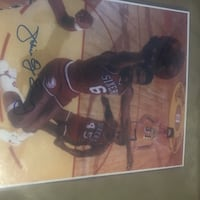 Julius Irving autographed poster Pittsburgh, 15203