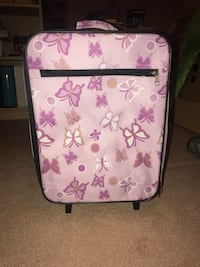 Butterfly suitcase