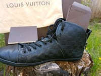 Louis Vuitton LV leather hightops- authentic Mission, V2V 3T2