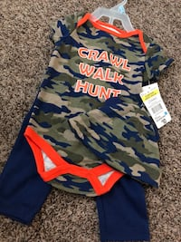 Onsie, Pants & Hat Baby Outfit Franklin, 42134