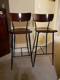 "Two 29"" height bar chairs Burnaby, V5H 1H7"