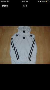 OFF-WHITE hoodie!!!!! LIKE NEW CONDITION!! Toronto, M1E 2V6