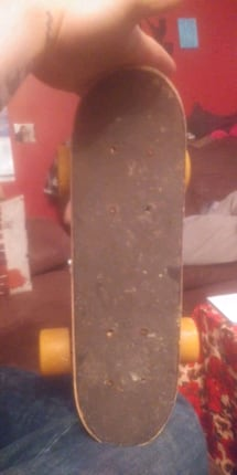 Small skate board and two decks