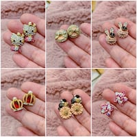 PRICE IS FIRM, PICKUP ONLY - Brand New Earrings - Selling as a bundle only!  Toronto, M4B 2T2