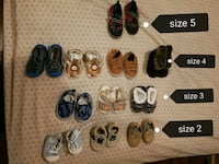 Baby shoes/ sneakers / sleepers / runners / sandals / winter boots Calgary, T3K 4M2