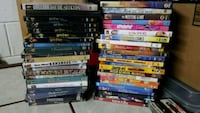 assorted DVD movie case lot Chicago, 60602
