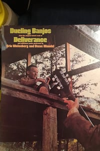 Dueling banjos on vinyl