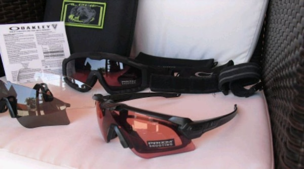 OAKLEY ALPHA OPERATION  si balistic nuovi