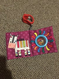Book and rattle for baby