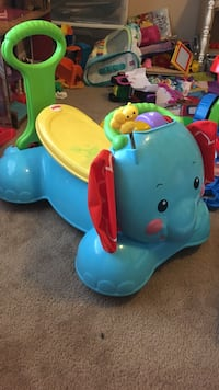 Fisher-Price ride on toy and walker elephant 1293 mi