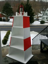 New Hand Crafted Wood LightHouse Bookcase  Dimensi Pleasantville, 10570