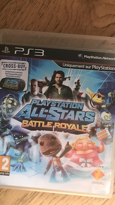 PS3 playstation all star battle royale game case