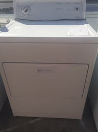 white front-load clothes washer Lancaster, 93535