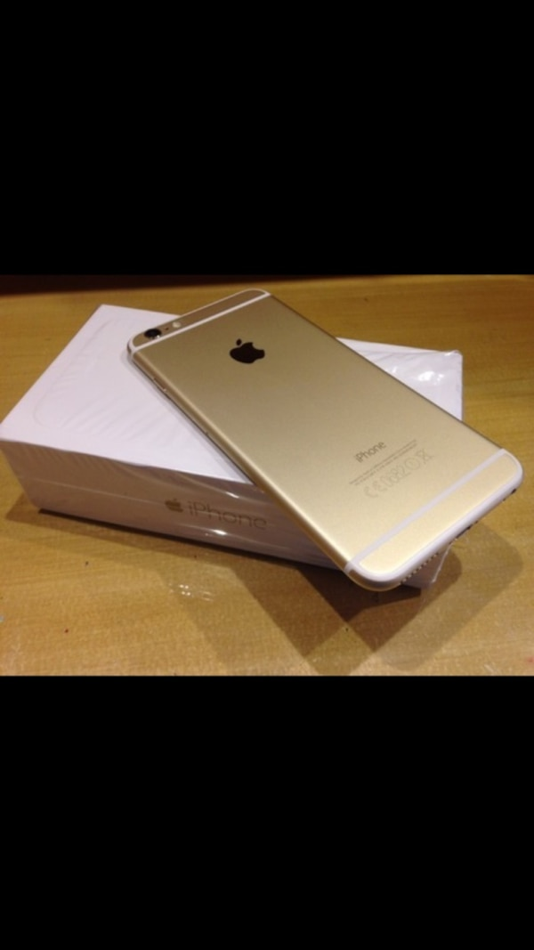 Brand New Gold IPhone 6