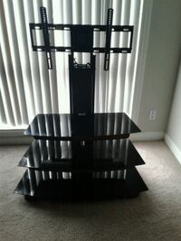 black wooden 3-layer rack Annandale, 22003