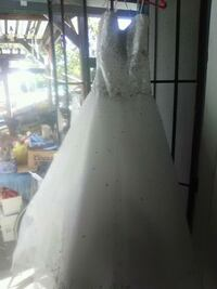 Wedding dress white and gold by Marilee  Stockton, 95207