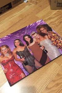 Spice Girls Wall Plaque Photo Wooden Composite  Islington and Bloor Toronto, M8Z 0C3