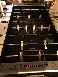black and white foosball table Mount Prospect, 60056
