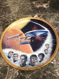 Star Trek Limited Edition Collectible Plate Castro Valley, 94552