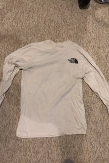 The north face long sleeve size small