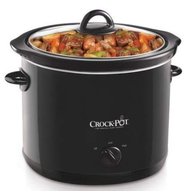 Crock-Pot SCR400-B 4-Quart Manual Slow Cooker, Black b557e47a-a275-48ee-a0c0-4d15835cbcbf