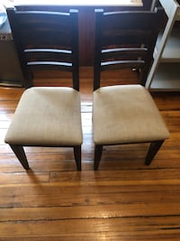 Dining chairs - excellent condition Boston, 02114