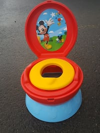 yellow and red potty trainer Edmonton, T6W 2A2
