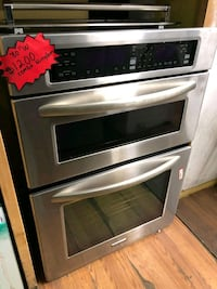MICROWAVE / OVEN KITCHEN AID STAINLESS STEEL