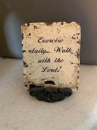 Exercise Daily Plaque & Stand O Fallon, 63366