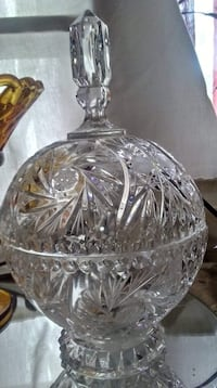 Crystal candy dish  Granbury, 76048