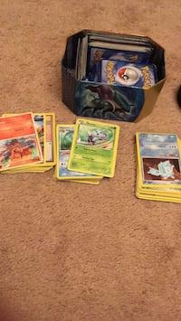 About 600 pokemon cards with case Spotswood, 08884