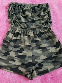 black and gray camouflage sleeveless dress Winnipeg, R3R 2M9