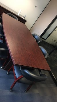 Brown wooden table dining or office Irvine, 92620