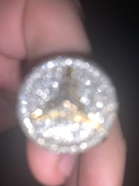 10k gold diamond mercades benz ring Hamilton, L8V 2P3