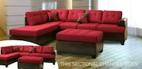 Red sectional brand new free shipping  Hyattsville, 20781